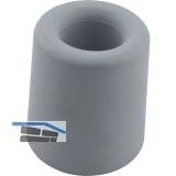 Wand-u. Bodentürpuffer  - ø 30 mm, Höhe 30 mm, Gummi grau