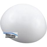 Wandtürpuffer  - ø 32 mm, Höhe 12 mm, Wandmon., Kunststoff weiß