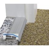 Türschwelle Isostar, 1000 x 35 x 15 mm, silber eloxiert