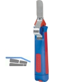 Universal-Kabelmesser mit gerader Klinge für Kabeldurchmesser 4-28 mm