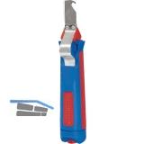 Universal-Kabelmesser mit Hakenklinge für Kabeldurchmesser 4-28 mm