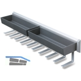 PEKA Pesolo Universalauszug 108 x 115 x 465 mm , Metall/Kunststoff