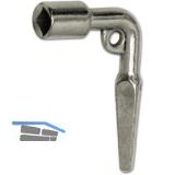 Universalschlüssel VK 6,5 - 9 mm, Innen-VK 8 mm, Temperguss