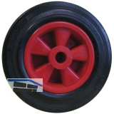 Vollgummi-Rad mit Gleitlager 160 x 40 x 20 mm Nabenbreite 58 mm