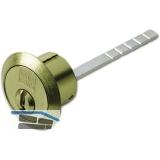Außenzylinder key Tec RPE Lagerprogramm  für GEGE Kasten. Messing matt