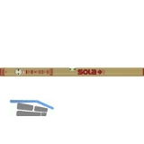 SOLA Wasserwaage AZ goldeloxiert Länge  400 mm