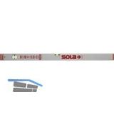 SOLA Wasserwaage AZB silbereloxiert Länge  200 mm