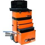 BETA Werkzeug-Trolley C41H mit zwei stapelbaren Modulen