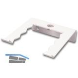 Werkzeughalter 11404, einfach, Stahl, weiß (ähnlich RAL 9003)