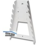 Werkzeughalter Schraubenschlüssel 11410, Stahl, weiß (ähnlich RAL 9003)