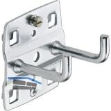 METEC Werkzeughalter doppelt  35 x 35 mm senkrechtes Hakenende