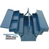 Werkzeugkoffer 5-teilig  430 x 200 x 200 mm Oberteile auseinanderziehbar