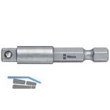 WERA Werkzeugschaft 870/4 1/4\vierkant Länge 50 mm