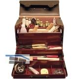 Werkzeugtasche Vielzweck Leder mit Tischler Handwerkzeug 35-teilig