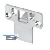 Stangenschließblech P645, für Verriegelung nach oben, 24 x 60 x 3 mm, Edelstahl