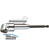 Winkelschraubvorsatz WB1 mit Magnet 1/4\sechskant 140 mm