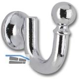 Einfachhakerl / Zierhakerl Sia Breite 16 mm, Höhe 30 mm, ZN verchromt poliert