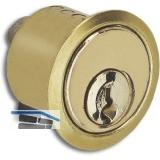 JuNie Zylinder ø 22 mm zu Schlössern 2863/2886 Sperre BN 0101, Messing poliert