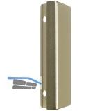 MACO Balkontürgriffe Muschel - außen, (30290), Aluminium neusilber elox.