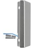 MACO Balkontürgriffe Muschel - außen, (36870), Aluminium silber elox.