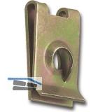 Blechmutter  3,9 mm /0,5-1,7 mm Federstahl verzinkt für Blechschrauben