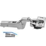BLUM CLIP top BLUMOTION Profiltürscharnier 95°, 9,5mm gekröpft, Schrauben
