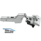 BLUM CLIP top BLUMOTION Standardscharnier 110°,  9,5mm gekröpft, INSERTA