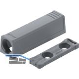 BLUM TIP-ON gerade Adapterplatte, Kurzversion;  956.1201, grau