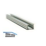 PS06 Führungs-/Einfasschiene, L5700, Kunststoff grau