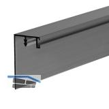 Gegen - Griffleiste zum Einnuten, L - 2600, Aluminium silber eloxiert