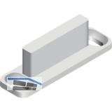 PS06 Gleiter zur Designvariante Innenfront, Kunststoff grau