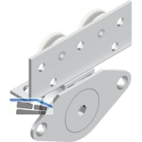 Cinetto PS06 Beschlagset stufenlos verstellbar Tragkraft 50 kg, 1 türig