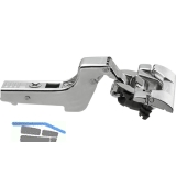 BLUM CLIP top BLUMOTION Standardscharnier 110°, 18mm gekröpft,INSERTA