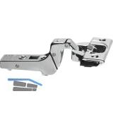 BLUM CLIP top BLUMOTION Profiltürscharnier 95°, 18mm gekröpft, Schrauben