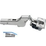 BLUM CLIP top BLUMOTION Standardscharnier 110°, 9,5mm gekröpft, Einpressen