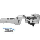 BLUM CLIP top BLUMOTION Profiltürscharnier 95°, 9,5mm gekröpft, INSERTA