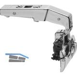 BLUM CLIP top BLUMOTION Stollenscharnier 95°, 3mm gekröpft,mit Feder, INSERTA