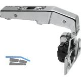 BLUM CLIP top BLUM Stollenscharnier 95°, 3mm gekröpft,mit Feder,Inn,Schrauben