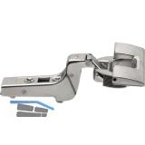 BLUM CLIP top Profiltürscharnier 95°, 18 mm gekröpft, INSERTA