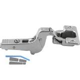 BLUM CLIP top Profiltürscharnier 95°, 18 mm gekröpft, ohne Feder, Schrauben