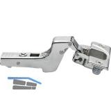 BLUM CLIP top Standardscharnier 110°, 18mm gekröpft mit Feder, Einpressen