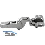 BLUM CLIP top Profiltürscharnier 95°, 9,5mm gekröpft, mit Feder, Schrauben