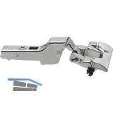 BLUM CLIP top Standardscharnier 110°, 9,5mm gekröpft mit Feder, INSERTA