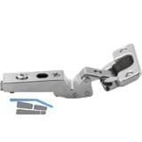BLUM CLIP top Winkelscharnier -45°, 110°, max. aufschlagend, III, Schrauben