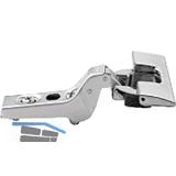 BLUM CLIP Standardscharnier 100°, 18mm gekröpft, mit Feder, INERTA