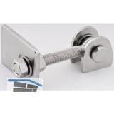 Anschweißtorband verstellbar, Länge 109,5 mm, Edelstahl V2A