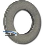 ISO7089 200HV M 4 blank Scheibe ohne Fase