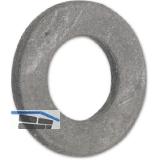 ISO7089 200HV M10 feuerverzinkt Scheibe mit hohem Härtegrad
