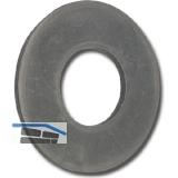 DIN2093  10.0x 5.2x0.5 Federstahl phosphatiert und geölt Tellerfeder
