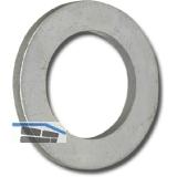 ISO7092 M 2 verzinkt Scheibe für Zylinderschrauben (DIN 433)
